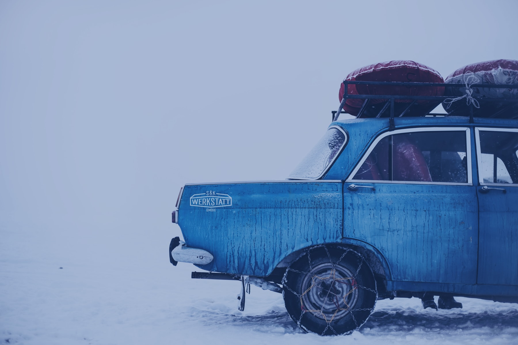 Imagebild Auto im Winter